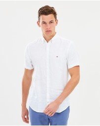 Tommy Hilfiger - Windsurf Short Sleeve Linen Shirt