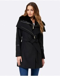 Forever New - Daria C Wrap Coat