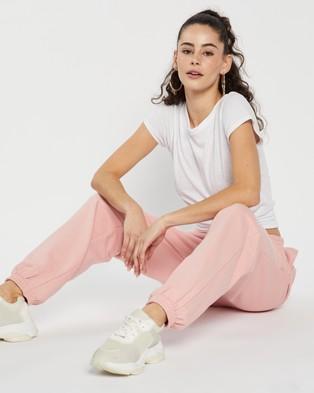 Dazie Keep It Up Sweat Pants - Sweatpants (Baby Pink)