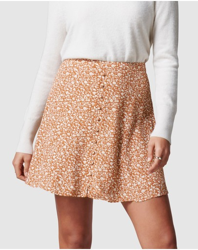 Forever New - Saffron Button Front Mini Skirt