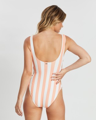 Volcom Coco One Piece Swimsuit - One-Piece / Swimsuit (Pink)