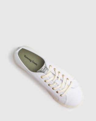 Barney Cools - Poolside Sneakers Lifestyle (White)