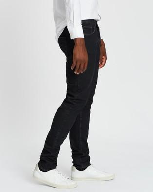 Kent and Curwen Slim Jeans - Slim (Black)