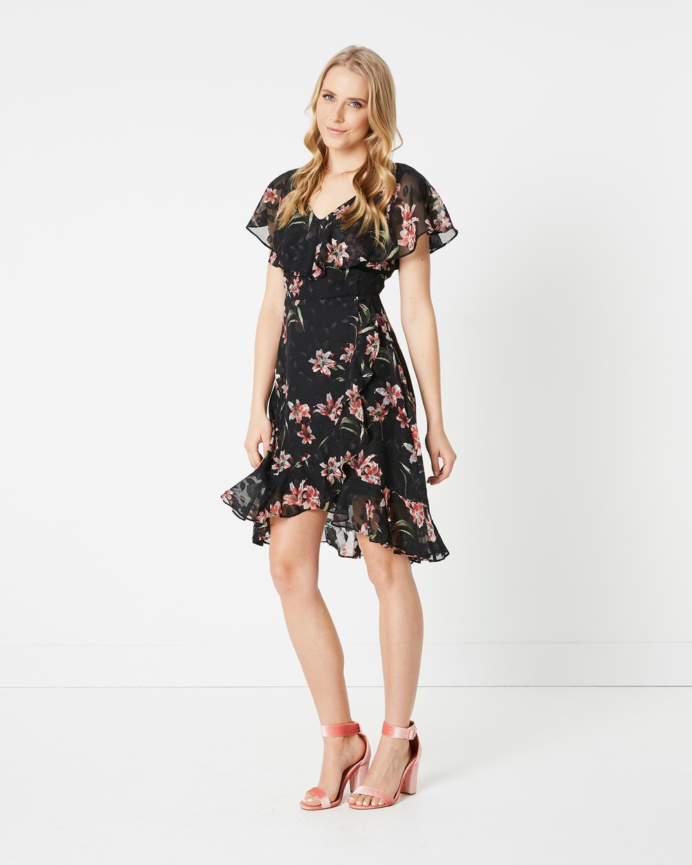 Stella Print Mirror Mirror Dress