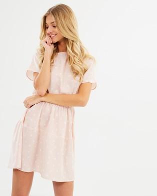 Atmos & Here – Sahara Dress Pink