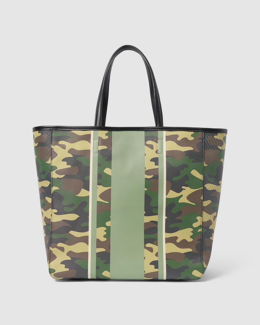 Urban Originals Riviera Tote Bags Camouflage Green