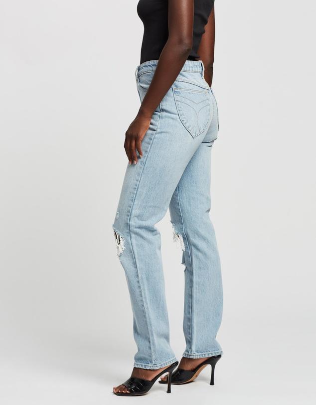 Women Classic Straight Jeans