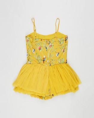 Bella & Lace Vintage Ballerina Dress   Kids - Printed Dresses (Merry Merry King)