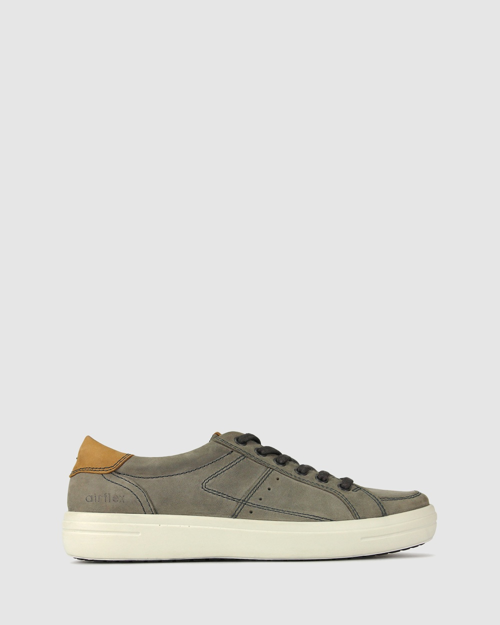 Airflex Lance Leather Sneakers Lifestyle Charcoal