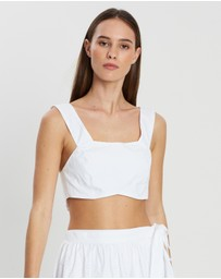 SIR THE LABEL. - Delilah Crop Top