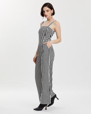 LENNI the label Void Jumpsuit - Jumpsuits & Playsuits (Stripe)