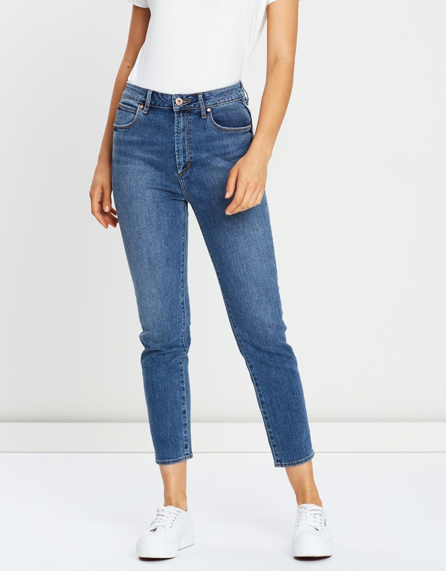 High Amy Mom Slim Jeans