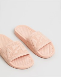 Big Logo TechLoom Slides - Women's