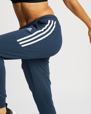 adidas Performance Essentials 3 Stripes Joggers - Pants (Crew Navy)