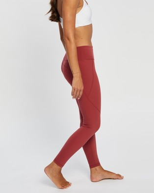 Sweaty Betty Power Workout Leggings - Full Tights (Renaissance Red)