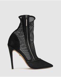 ZU - Chichi Stiletto Mesh Boots