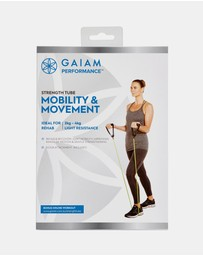 Gaiam - Performance Strength Tube Mobility & Movement