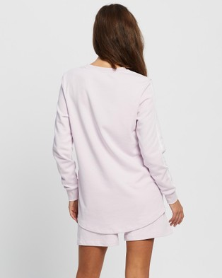 Angel Maternity Maternity And Nursing Tracksuit Set - Shorts (Lilac)