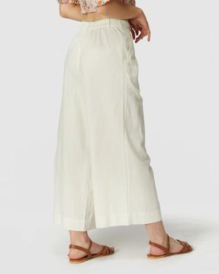 Princess Highway Nina Culotte - Pants (White)