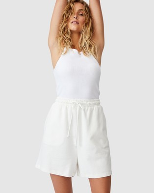 Cotton On Clubhouse Shorts - High-Waisted (Cloud Dancer)