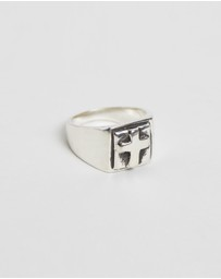 Heart of Bone - Faith Signet Ring
