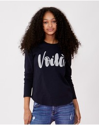 Decjuba Kids - Voila Long Sleeve Tee - Teens