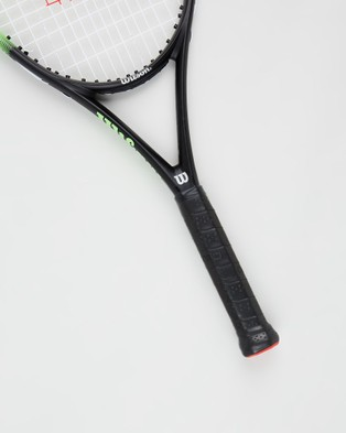 Wilson Blade Feel 105 Tennis Racket - Sports Equipment (Black & Green)