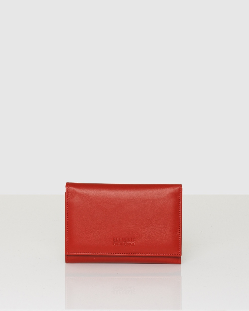 Florence Aida Leather Wallet Wallets Red