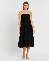 C/MEO COLLECTIVE - Break In Two Maxi Dress