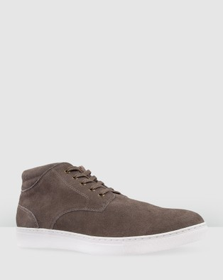 Bared Footwear Xenon Sneakers   Men's - Sneakers (Charcoal Suede)