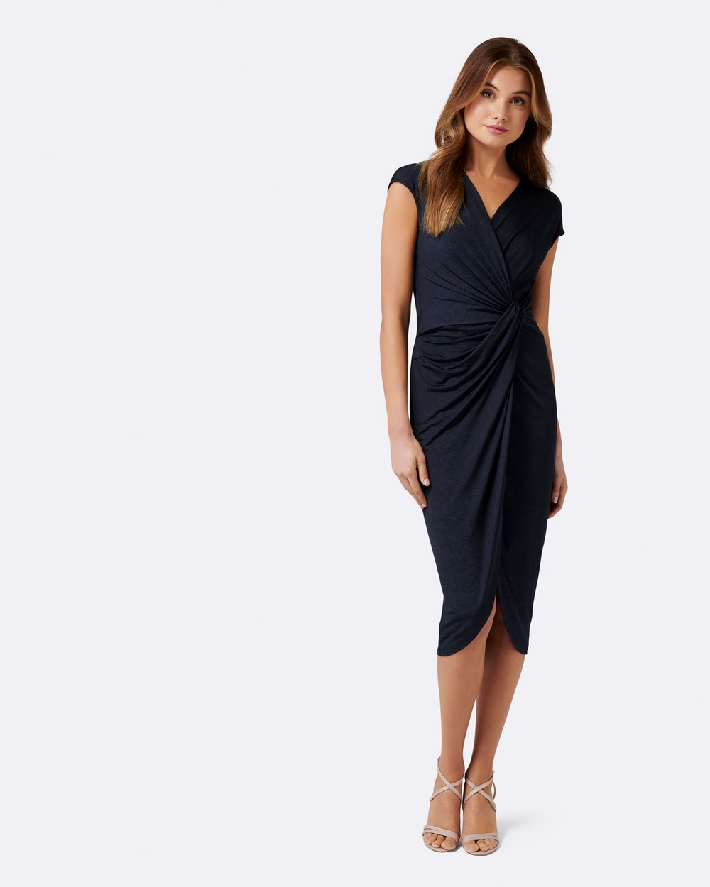 Forever New Tiffany Twist Dress Bridesmaid Dresses Navy Tiffany Twist Dress