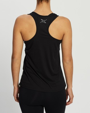 2XU XVENT G2 Singlet - Muscle Tops (Black & Silver Reflective)