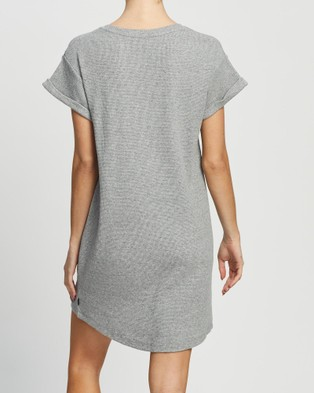 Silent Theory Harlowe Tee Dress - Dresses (GREY MARLE)