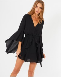 Tussah - Harper Plunge Mini Dress