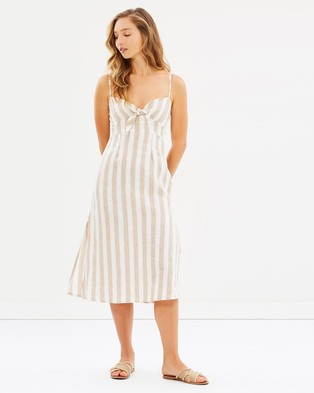 Faithfull – Fiscardo Midi Dress Atacama Stripe Print