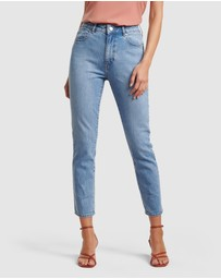 Forever New - Isabel Mid Rise Straight Jeans