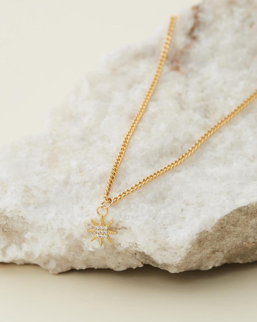 Avant Studio Stella Necklace Jewellery Gold