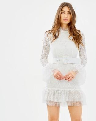 Asilio – Lost In Light Dress Gardenia White