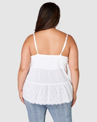 Sunday In The City Players Anthem Cami - Tops (white)
