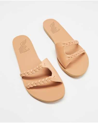 Ancient Greek Sandals - Ieria Braid Slides