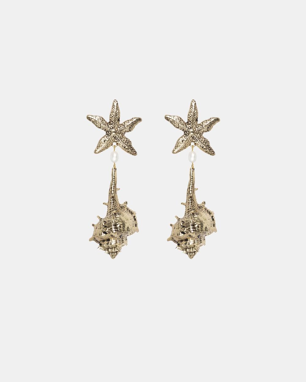 Kitte Positano Earrings Jewellery Gold
