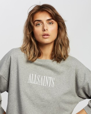 AllSaints Stamp Storn Sweat - Sweats (Grey Marle)