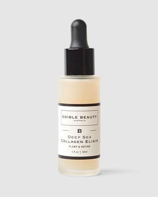 Edible Beauty Deep Sea Collagen Elixir   Booster Serum - Beauty (N/A)