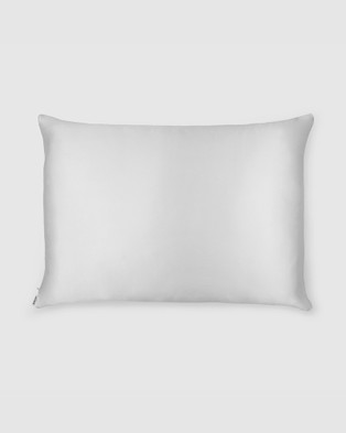 Shhh Silk Silk Eye Mask and Pillowcase - Sleep (Grey)