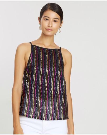 b27ef90555b Sequin   Buy Women's Sequin Tops Online Australia - THE ICONIC