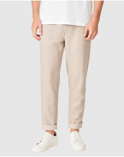 French Connection - Linen Blend Pants