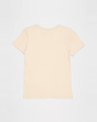 Cotton On Kids - Penelope Short Sleeve Tee   Kids Teens - T-Shirts & Singlets (Peach Sand & Wild Child) Penelope Short Sleeve Tee - Kids-Teens