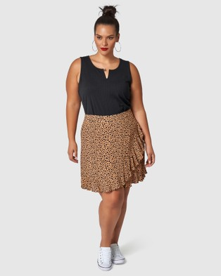Sunday In The City Maze Skirt - Skirts (neutrals)