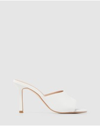 Forever New - Brooklyn Square Toe Mid Heels