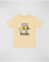Cotton On Kids - Skater Short Sleeve Tee - Kids-Teen